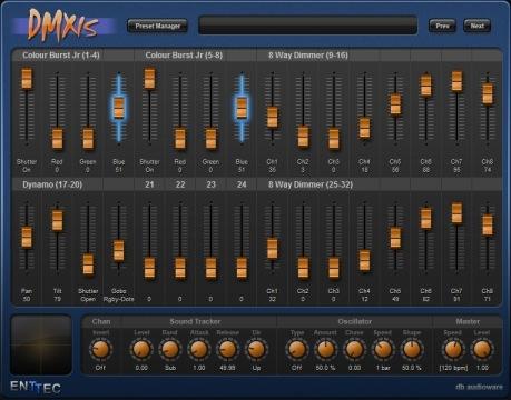 Marvelous DMXIS Screenshot